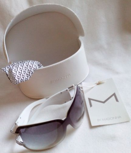 H And M Sunglasses  m m by madonna white sunglasses bnwt
